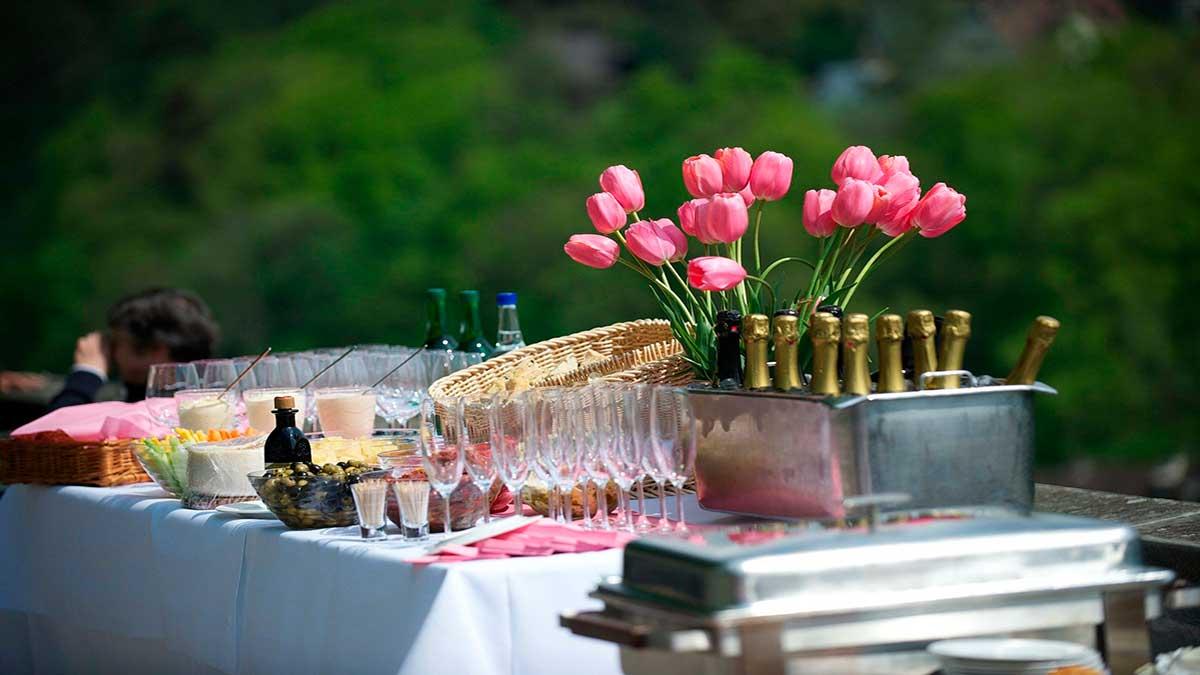 Ideas para organizar una fiesta al aire libre